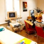 Sprechzimmer mit Ultraschall